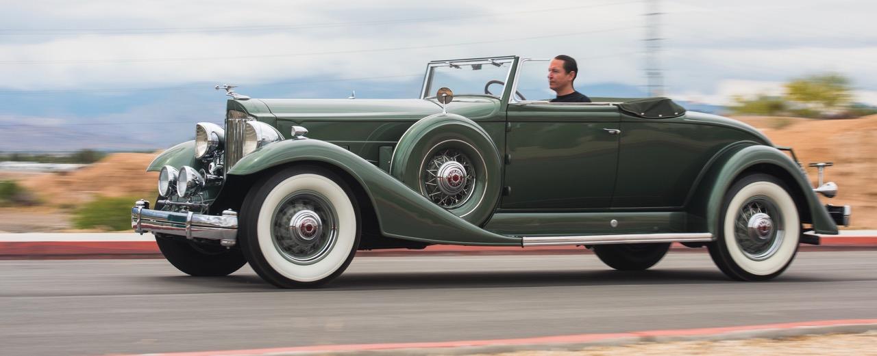 1933 Packard Twelve convertible coupe