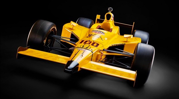 Stinger is a modern tribute to first Indy 500 winner, the Marmon Wasp