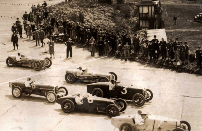 Inaugural British GP reunion set for Royal concours