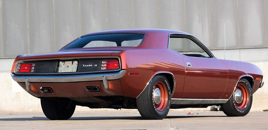 A 1970 Plymouth 'Cuda 426 Hemi coupe was highest non-Shelby sale