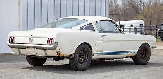 The Shelby shows some rust issues | Bonhams