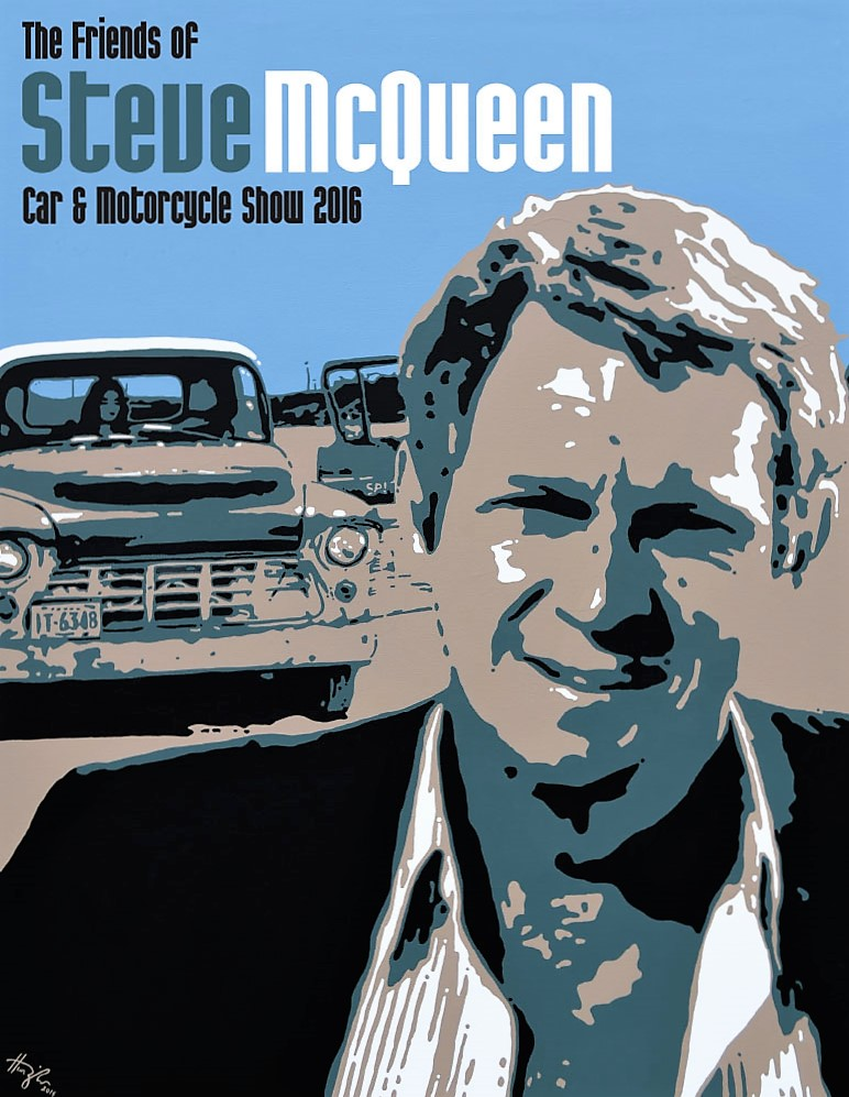 The Friends of Steve McQueen show poster