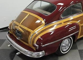 1950 Plymouth Club Coupe custom woodie