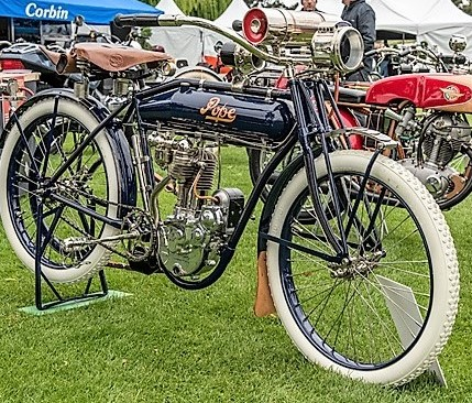 From choppers to scooters at Quail Motorcycle Gathering