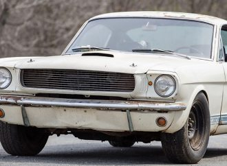 Unknown Shelby GT350 'barn find' headed to Bonhams auction