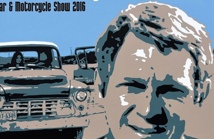 Steve McQueen celebration expands with inaugural car rally