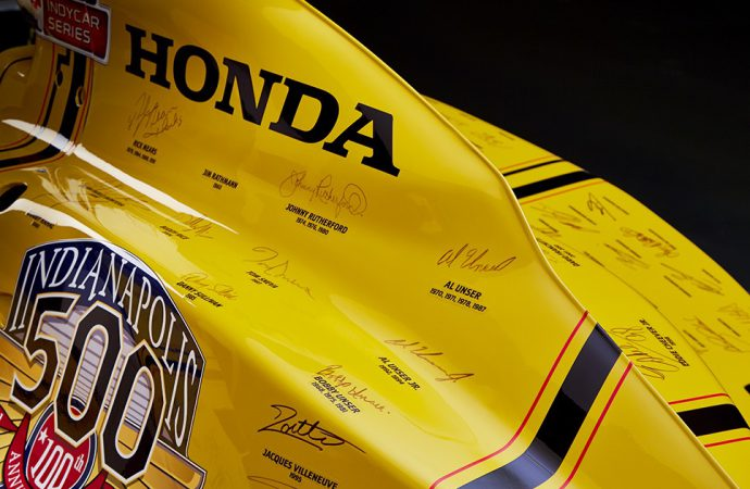 Stinger Indy car auction generates $900,000 for charity