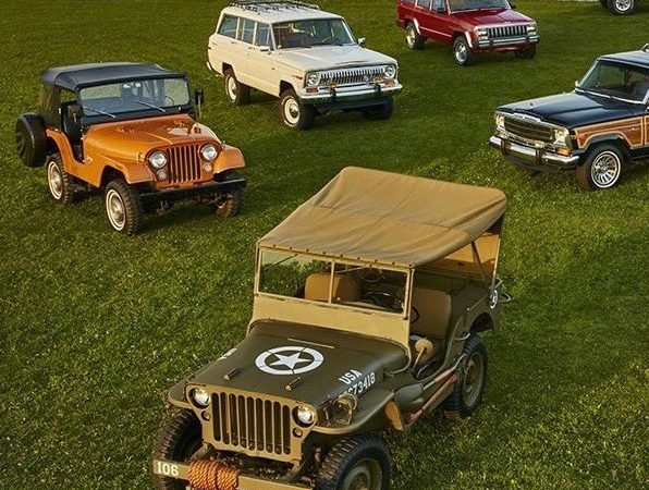 Jeep's Euro division picks nine key models for 75th celebration
