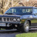 The 1971 Hemi 'Cuda is one of just 59 equipped with four-speed manual overdrive