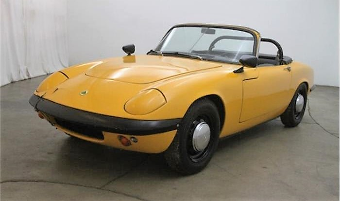 The Lotus Elan is one of the quickest and best-handling of the British sports cars