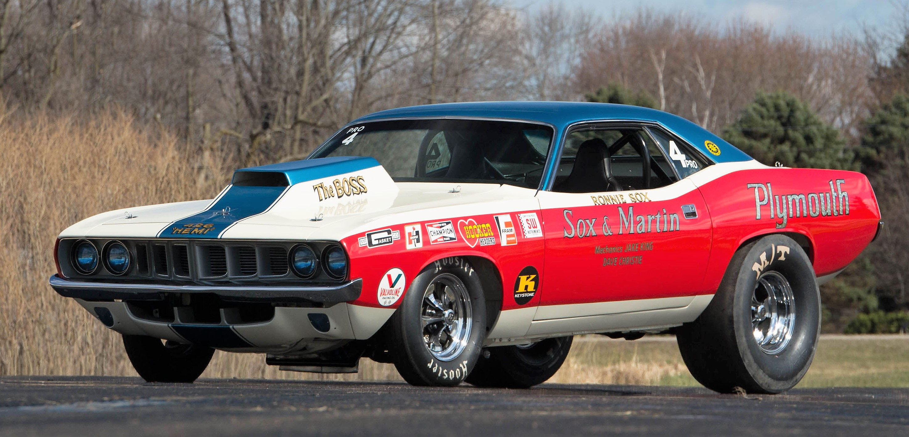 Mopar Muscle Cars >> Major Mopar Muscle Powers Onto Mecum Auction Block