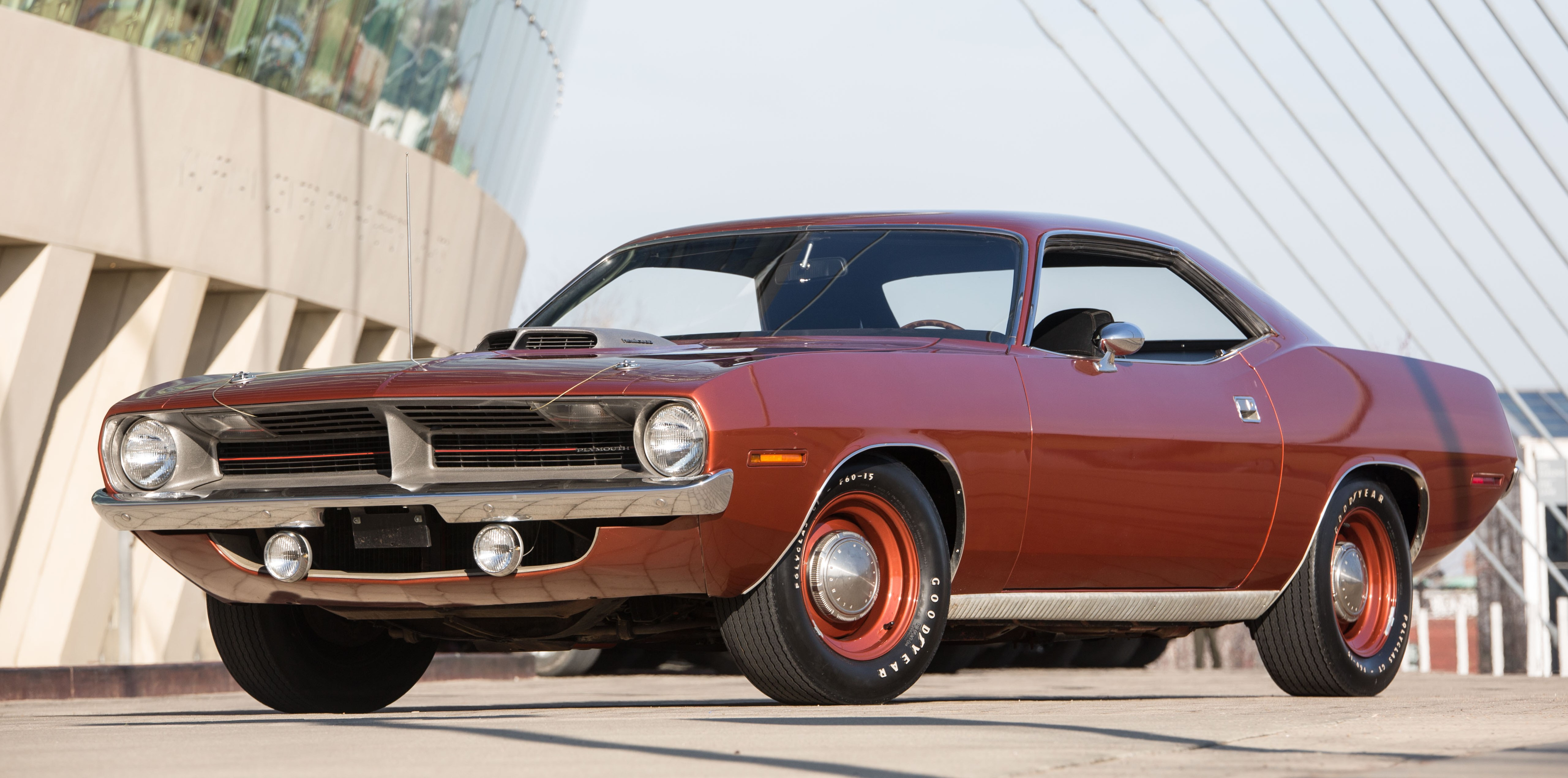 The 1970 Hemi 'Cuda is an original, low-mileage survivor
