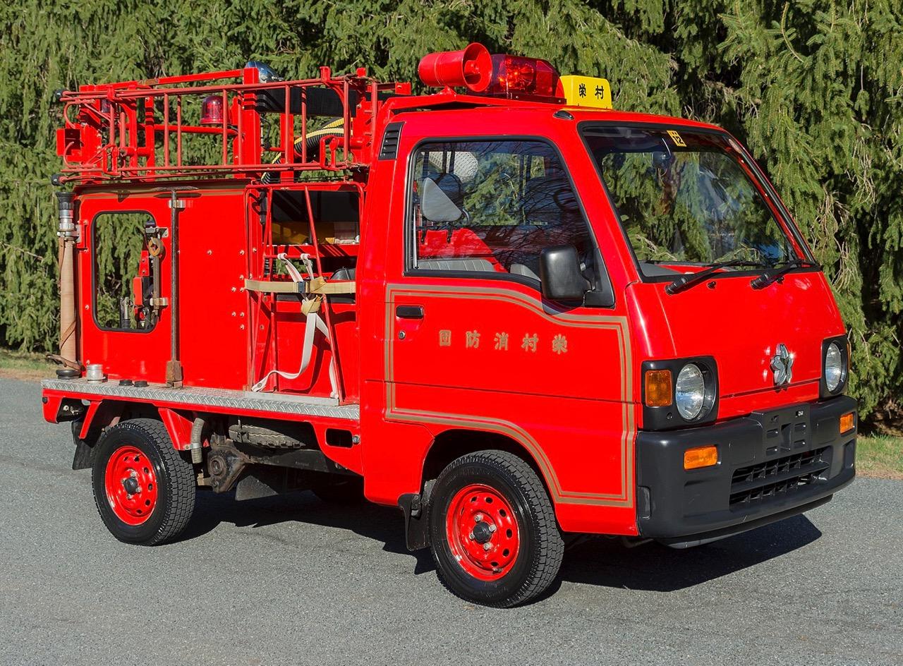 Subaru fire truck