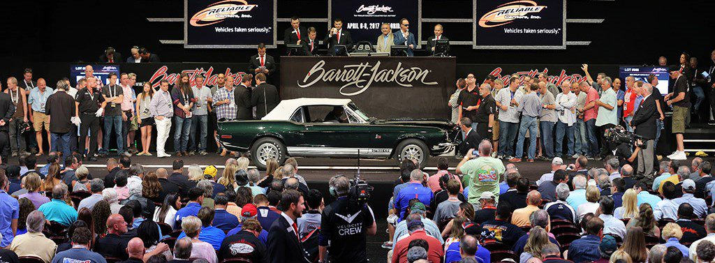The 1968 Shelby GT500 KR convertible on the auction block
