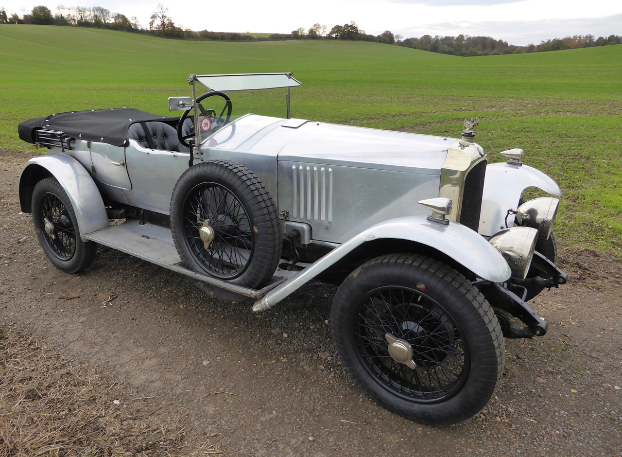 1926 Vauxhall one of 20 that remain | Heveningham Hall photos