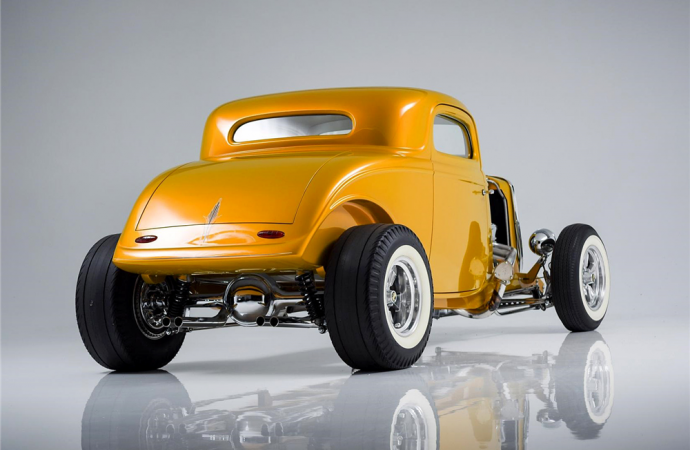 Countdown to Barrett-Jackson Northeast: 1933 Ford 3-Window 'Rick Dore custom' coupe