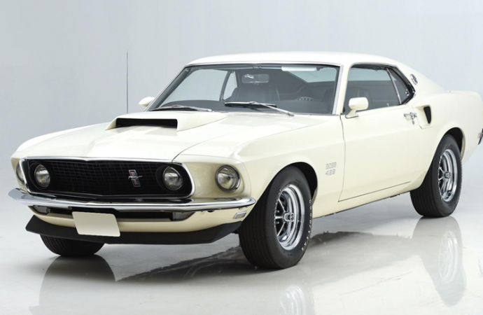 Countdown to Barrett-Jackson Northeast: 1969 Ford Mustang Boss 429 fastback