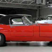 Countdown to Barrett-Jackson Northeast: 1962 Jaguar XKE Series 1 roadster