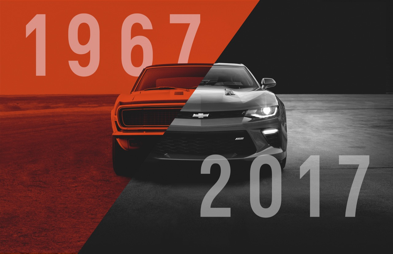 Yes, it's been 50 years since Chevrolet launched the Camaro | Chevrolet photos