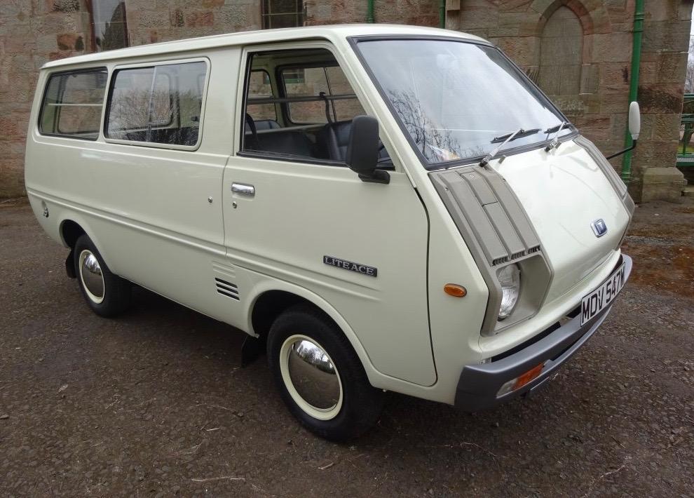 1978 Toyota Lite Ace Day van headed to CCA sale | CCA photos