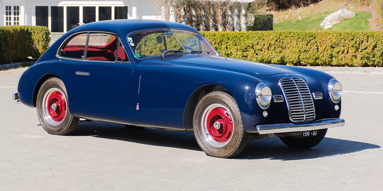 1949 Maserati A6 1500 coupe among featured vehicles at The Finest's auction at The Elegance at Hershey | Finest photos