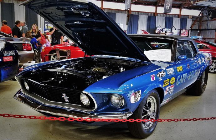 Roush celebrates 40 years of performance at Carlisle