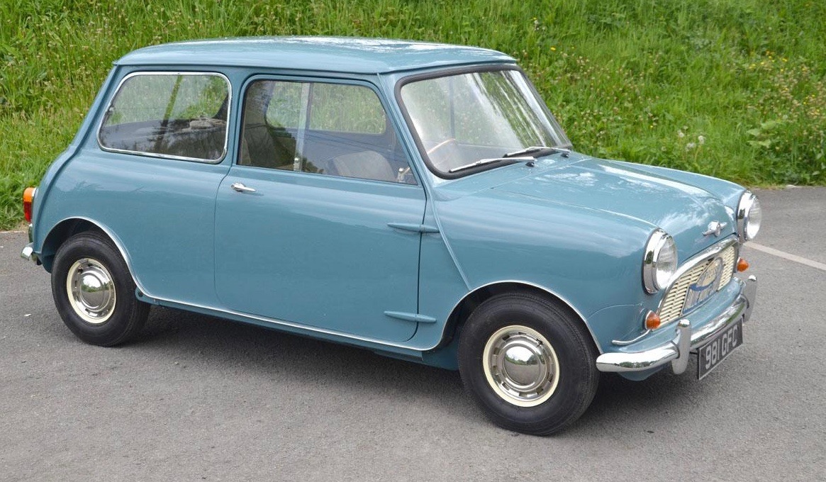 Famed auto journalist owned this Mini