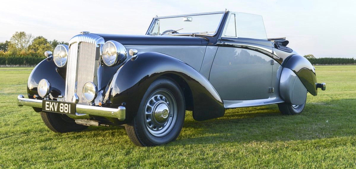 Churchill's 1939 Daimler DB18 was built on chassis that survived factory bombing | Coys photos