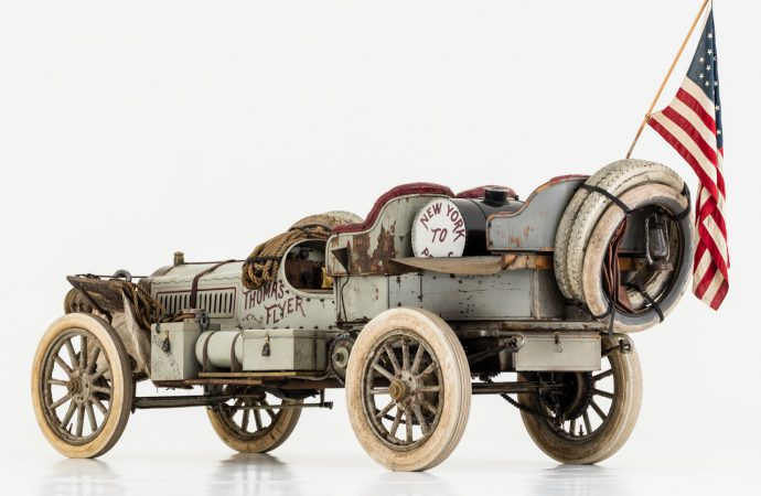 NY-to-Paris winning 1907 Thomas Flyer joins historic register