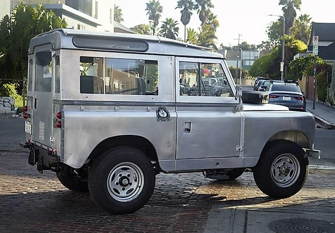 The owner has added a number of upgrades to the Land Rover