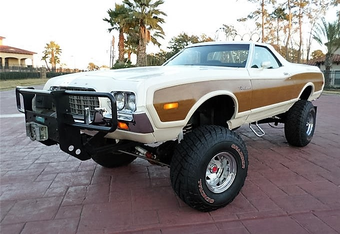 The Ford Ranchero/Bronco merger created this off-road monster truck