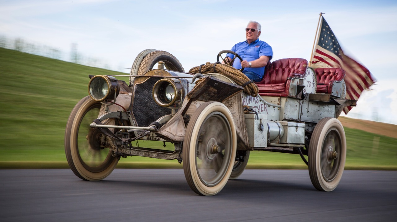1907 Thomas Flyer still running more than a century after winning New York to Paris race in 1908 | HVA photos
