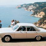 Audi 100 LS, four-cylinder engine, 1760 ccm, 74 kW (100 bhp), 1969