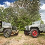 Civilian and Military Jeeps from the Omix-ADA Jeep Collection