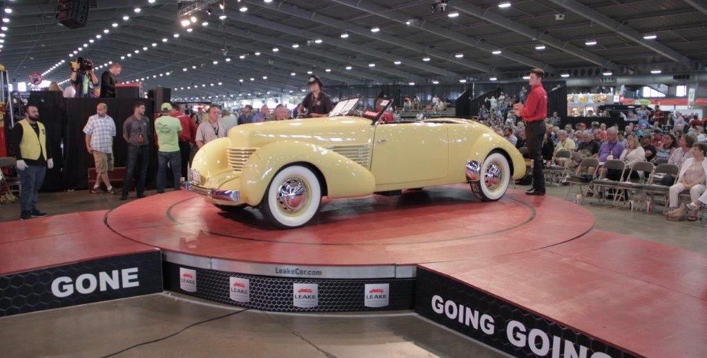 Leake's Tulsa auction action a year ago | Leake Auction photos