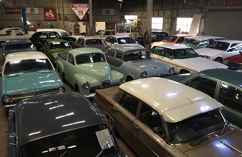 Charlie Mccarran's Canowindra Motors has become a showcase of Holden history | Burns & Co. photos