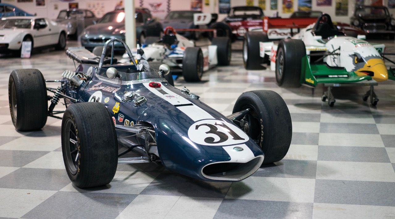 Denny Hulme raced this Gurney Eagle at Indy
