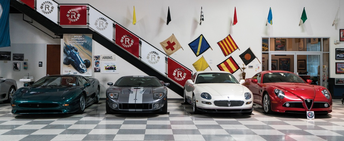 XJ 220, Ford GT, a 2006 Maserati Gran Sport and Alfa Romeo 8C Competizione | RM Sotheby's photos by Karissa Hosek