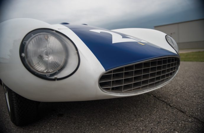 1955 Ferrari 750 Monza Spider raced by Hill, Shelby and Hall consigned to RM Sotheby's Monterey auction