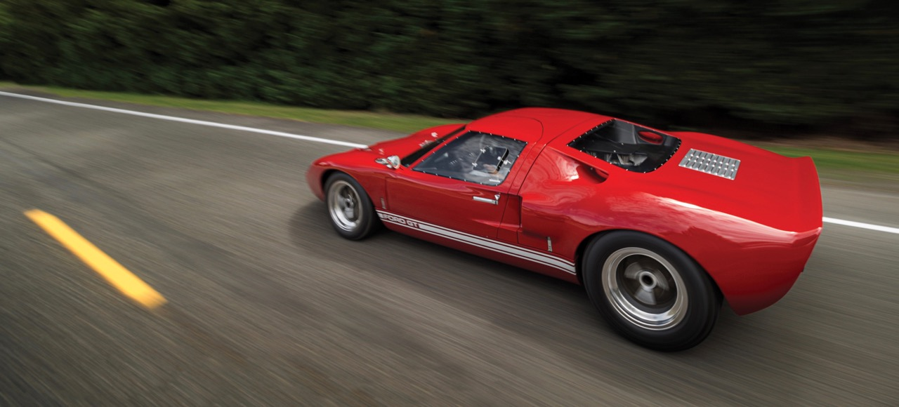 1966 Ford GT40 Mk I has been a road car since new