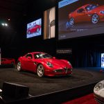 Offered from the Riverside International Automotive Museum, the 2008 Alfa Romeo 8C Competizione sold for a strong$319,000_Karissa Hosek (c) 2016 Courtesy Auctions America (1)