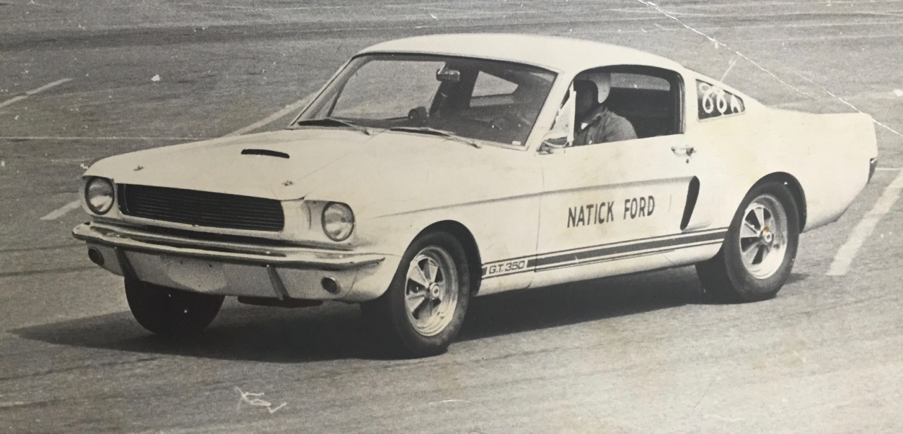 The Shelby GT350 in its racing heyday