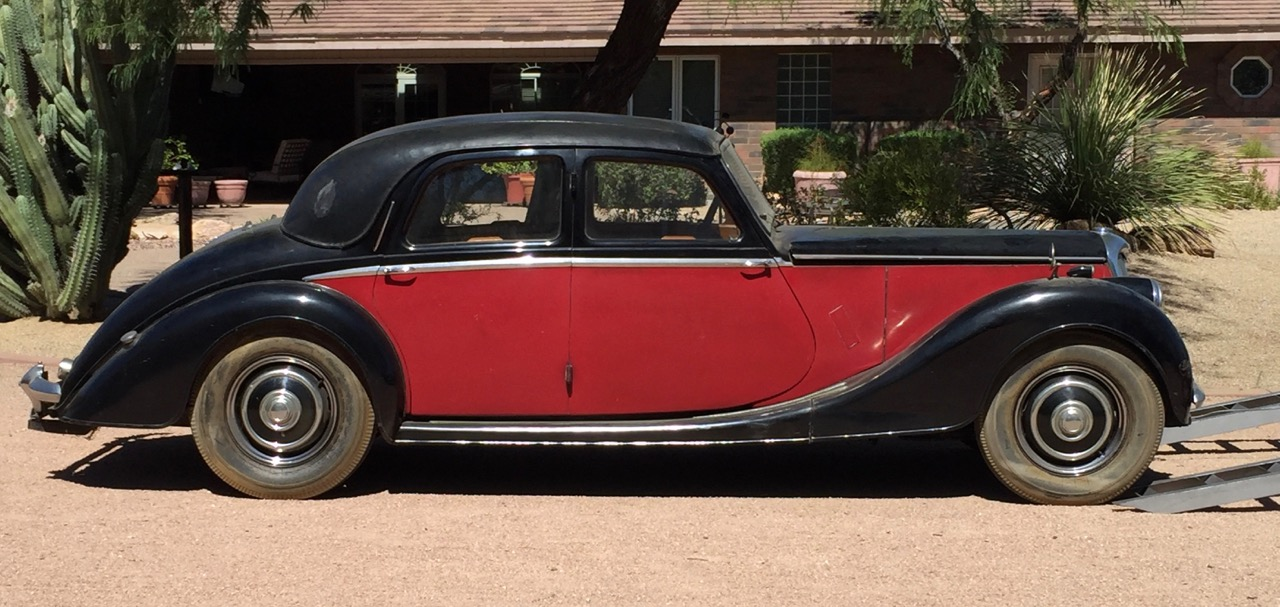 1951 Riley arrives in Arizona | Steven Stralser photos