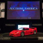 Top lot of Auctions America's 2016 Santa Monica sale, the 1995 Ferrari F50 sold for a final $1,952,500 _Karissa Hosek (c) 2016 Courtesy Auctions America (1)