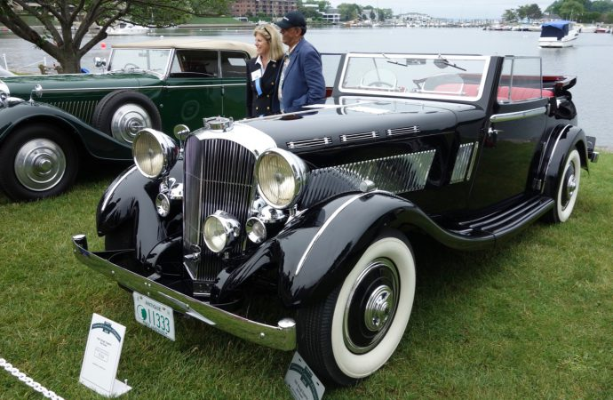 Studebaker, Brough take best of show at Greenwich concours