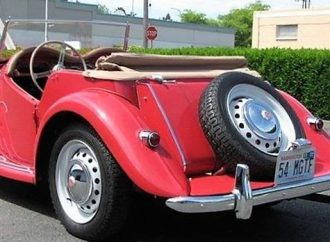 1954 MG TF roadster