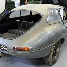 'Barn find' Jaguar XK-E reigns at British auction