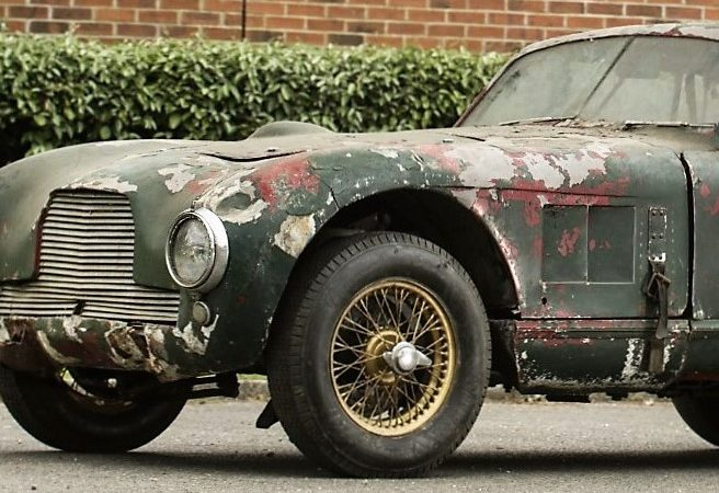 Historic but decrepit, Aston Martin scores at Bonhams auction