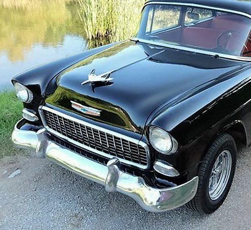 1955 Chevrolet 150 two-door post