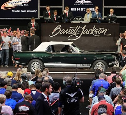 1968 Shelby GT500KR draws bids at Barrett-Jackson's Connecticut sale | Barrett-Jackson photo